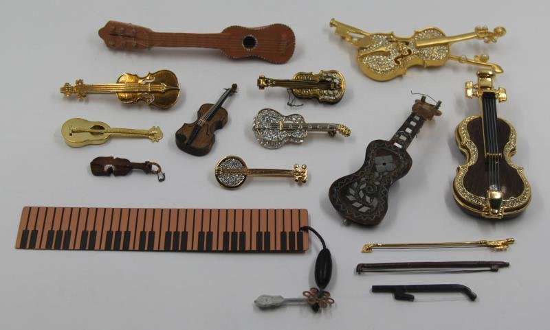 SILVER. Unique Collection of Assorted Violins and - 10
