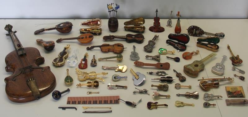 SILVER. Unique Collection of Assorted Violins and