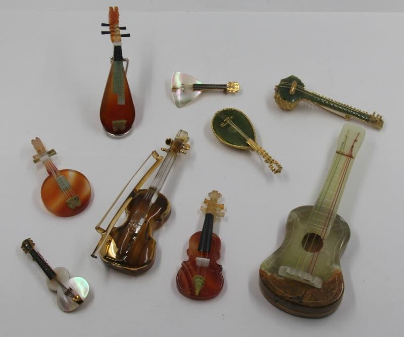 SILVER. Unique Collection of Assorted Violins and - 2
