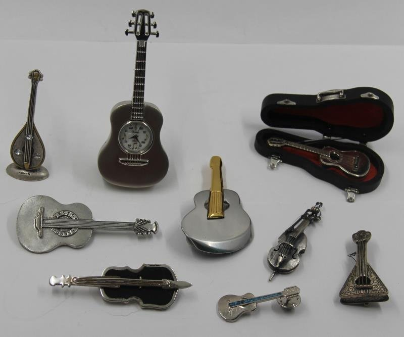 SILVER. Unique Collection of Assorted Violins and - 5