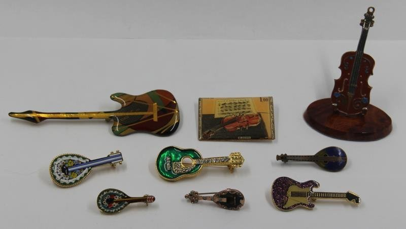 SILVER. Unique Collection of Assorted Violins and - 8