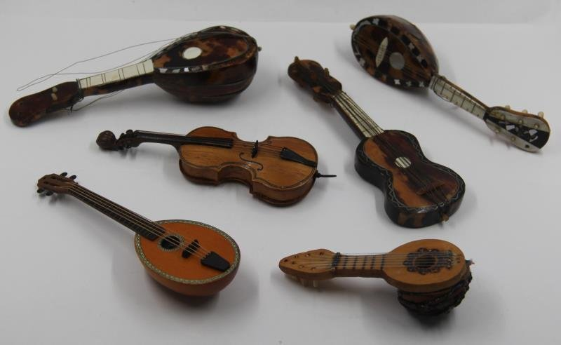 SILVER. Unique Collection of Assorted Violins and - 9