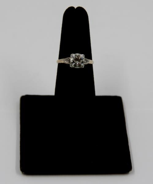 JEWELRY. 14kt Gold and 1+ct Diamond Engagement