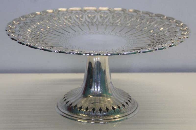 STERLING. Tiffany & Co. Cake Plate.