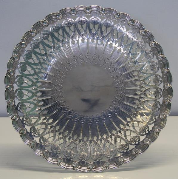 STERLING. Tiffany & Co. Cake Plate. - 2
