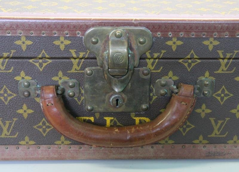 Vintage Louis Vuitton Hardcase Suitcase or Luggage - 4
