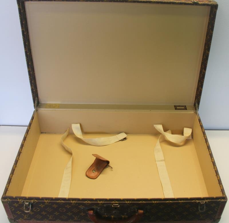 Vintage Louis Vuitton Hardcase Suitcase or Luggage - 7