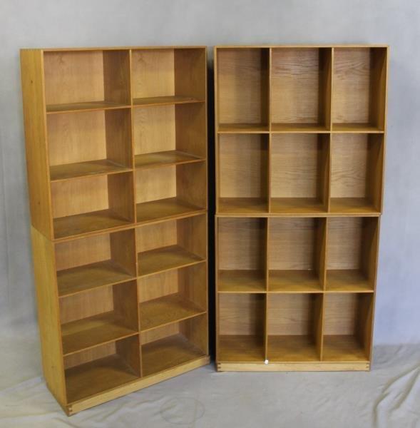 4 Mogens Koch; Rud. Rasmussens Bookcases.