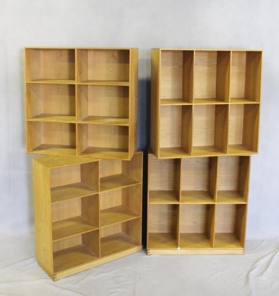 4 Mogens Koch; Rud. Rasmussens Bookcases. - 5