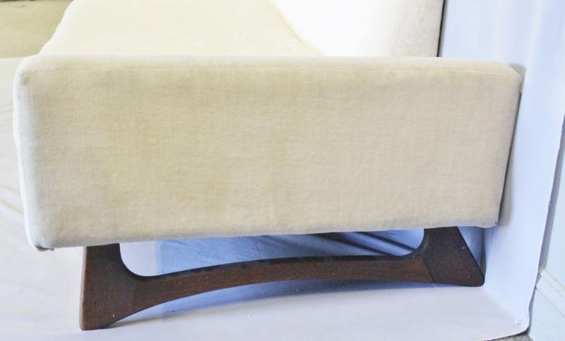 Midcentury Adrian Pearsall Two Piece Sofa. - 3