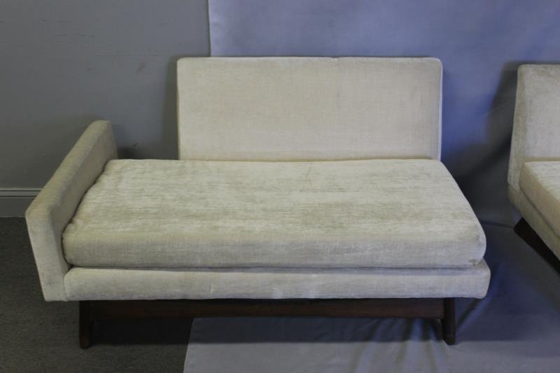 Midcentury Adrian Pearsall Two Piece Sofa. - 4