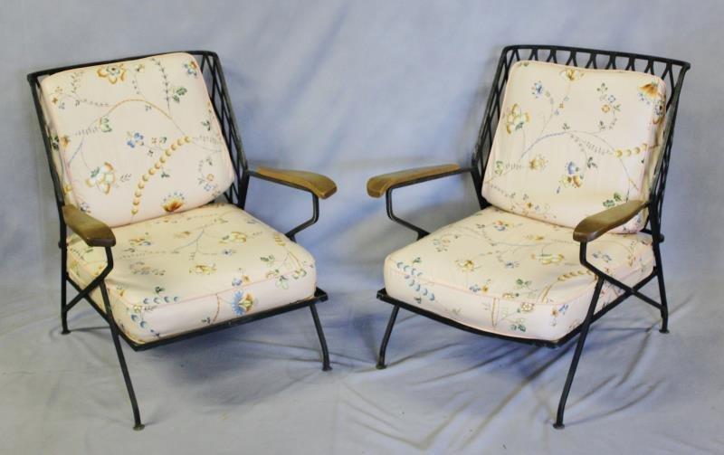 Pair of Maurizio Tempestini for Salterini Chairs.