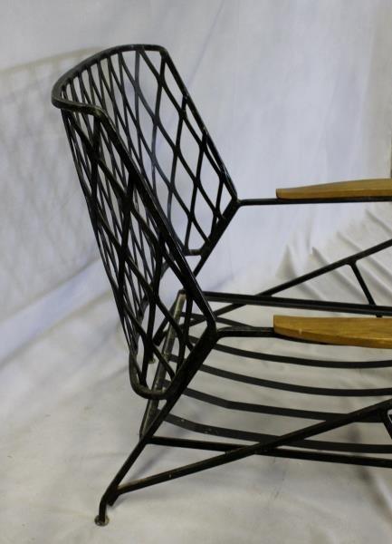 Pair of Maurizio Tempestini for Salterini Chairs. - 4