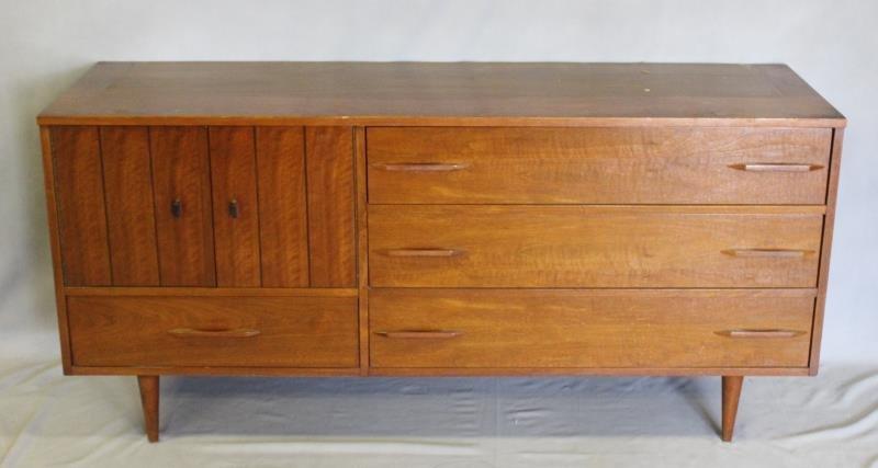 Midcentury American Modern Sideboard Cabinet.