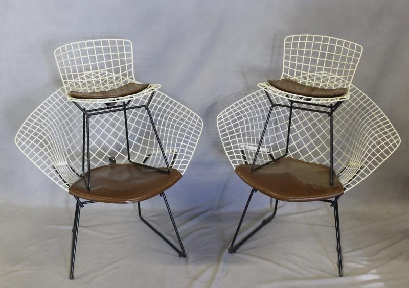 Harry Bertoia for Knoll Set of 4 Chairs.