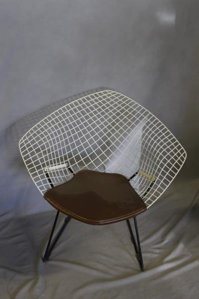 Harry Bertoia for Knoll Set of 4 Chairs. - 4