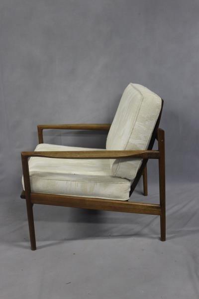 Midcentury Pair of Teak Lounge Chairs. - 2