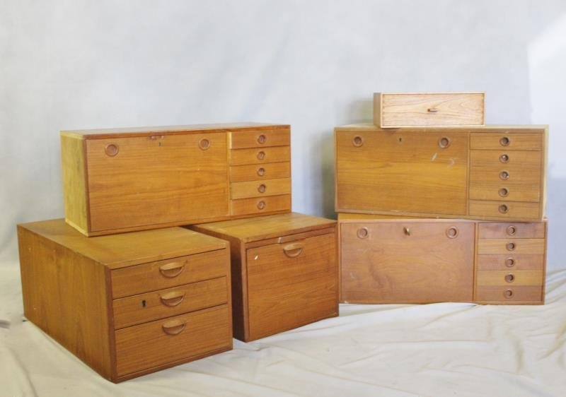 Midcentury Set of Swedish Cabinets.