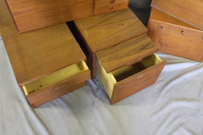 Midcentury Set of Swedish Cabinets. - 4