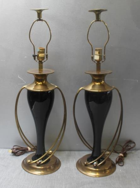Pair of Chapman Table Lamps.