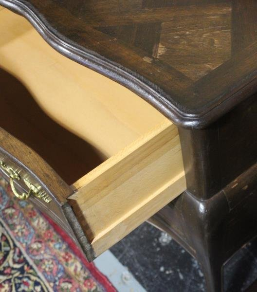 Pair of French Provincial Style 2 Drawer Commodes. - 4