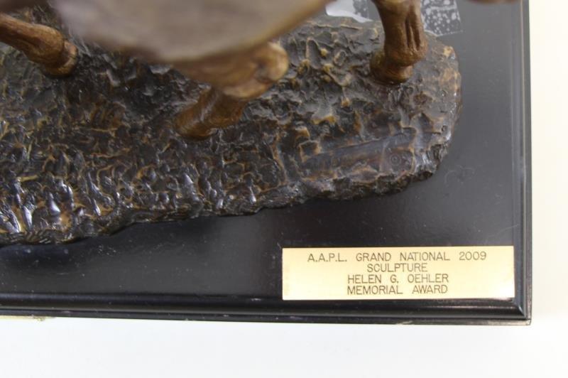 "NEWMARK, Marilyn. Bronze Sculpture ""Pasture Pals"". - 5"