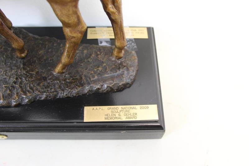 "NEWMARK, Marilyn. Bronze Sculpture ""Pasture Pals"". - 9"