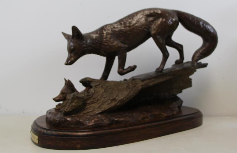 "NEWMARK, Marilyn. Bronze Sculpture ""The Guardian"". - 5"