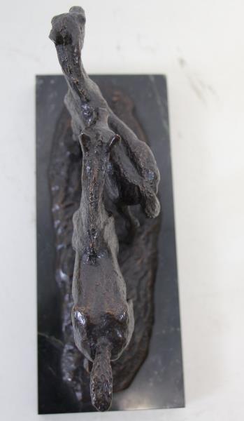 "NEWMARK, Marilyn. Bronze Sculpture ""Pasture Pals"". - 4"