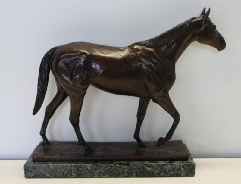 "NEWMARK, Marilyn. Bronze Sculpture ""Elkridge"". - 2"