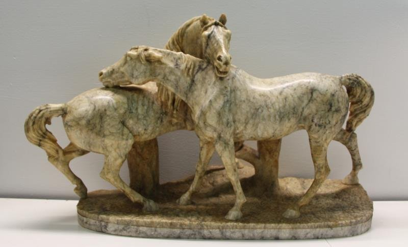 UNSIGNED, Finest Quality Marble Sculpture of 2
