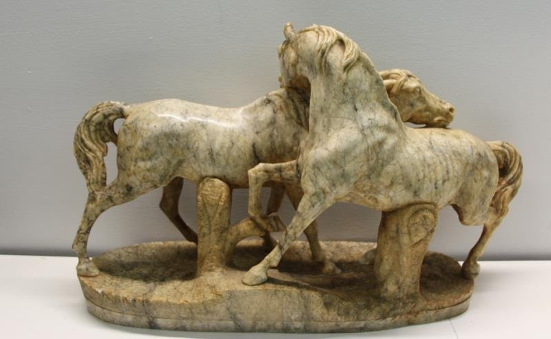 UNSIGNED, Finest Quality Marble Sculpture of 2 - 4