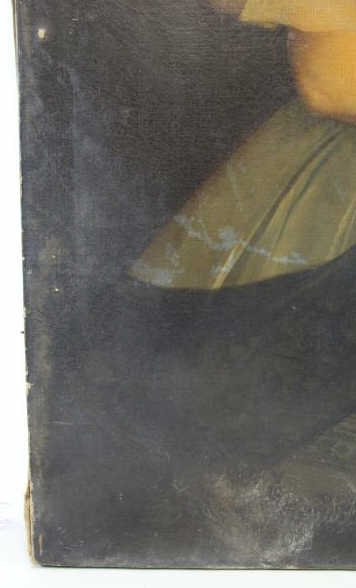 TILLIER, Paul. Oil on Canvas Portrait of a Beauty. - 7