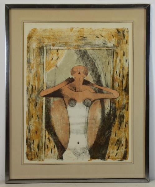 """TAMAYO, Rufino. Color Lithograph """"Torse de Femme"""". - 2"""