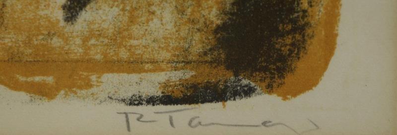"""TAMAYO, Rufino. Color Lithograph """"Torse de Femme"""". - 4"""