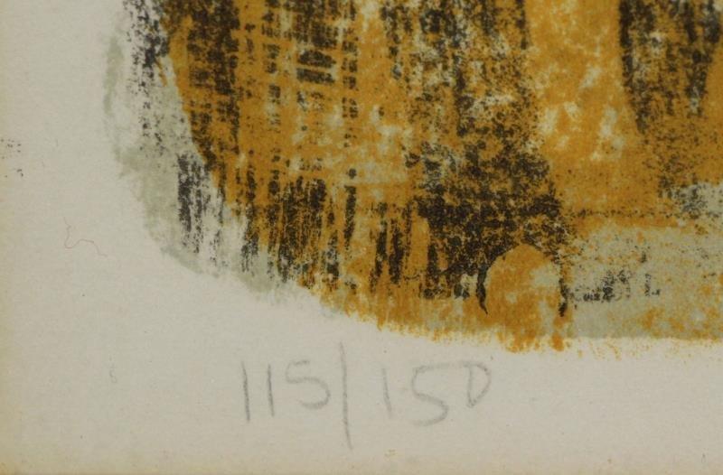 """TAMAYO, Rufino. Color Lithograph """"Torse de Femme"""". - 5"""
