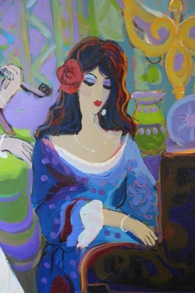 MAIMON, Isaac. Oil on Canvas. Musicians in - 3