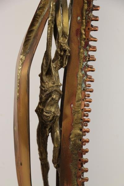 RICE, Sean. Bronze and Copper Figural Sculpture. - 2