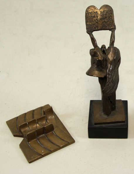 KAISH, Luise. Two Sculptures.