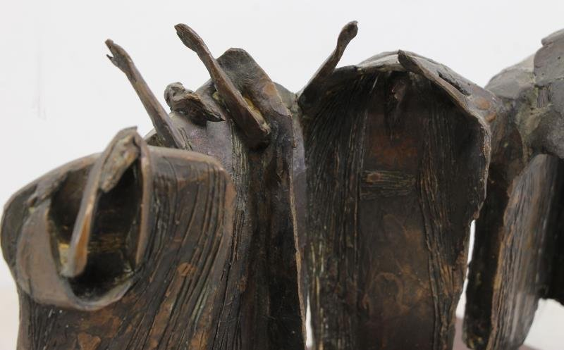 "KAISH, Luise. Bronze. ""Procession"" - 3"