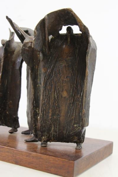 "KAISH, Luise. Bronze. ""Procession"" - 5"