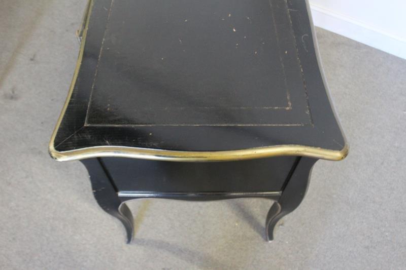 Louis XV Style Paint And Gilt Decorated Bureau - 4