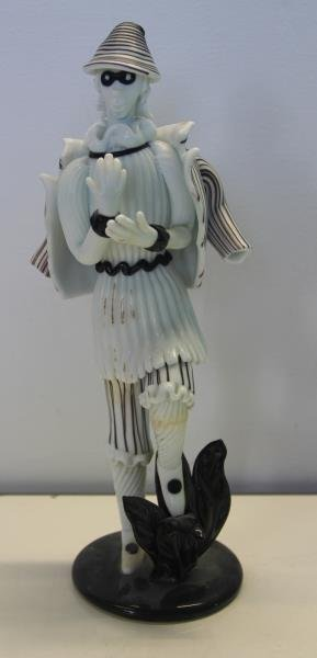 Pair of Venini Murano Glass Figures. - 3