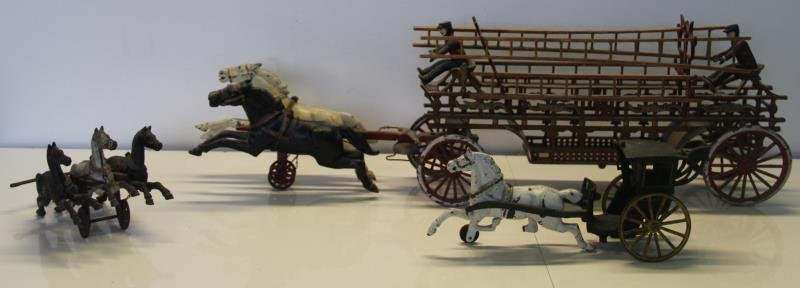 Grouping of 3 Antique Toys.