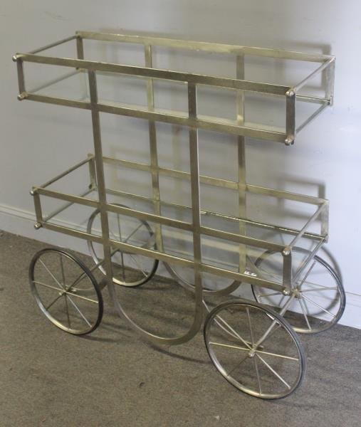 Industrial Style Serving / Display Cart.