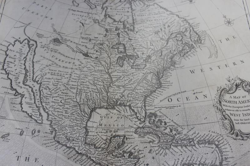 """SEALE, R.W. """"A Map of North America with the - 4"""
