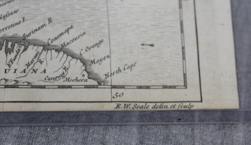 """SEALE, R.W. """"A Map of North America with the - 5"""