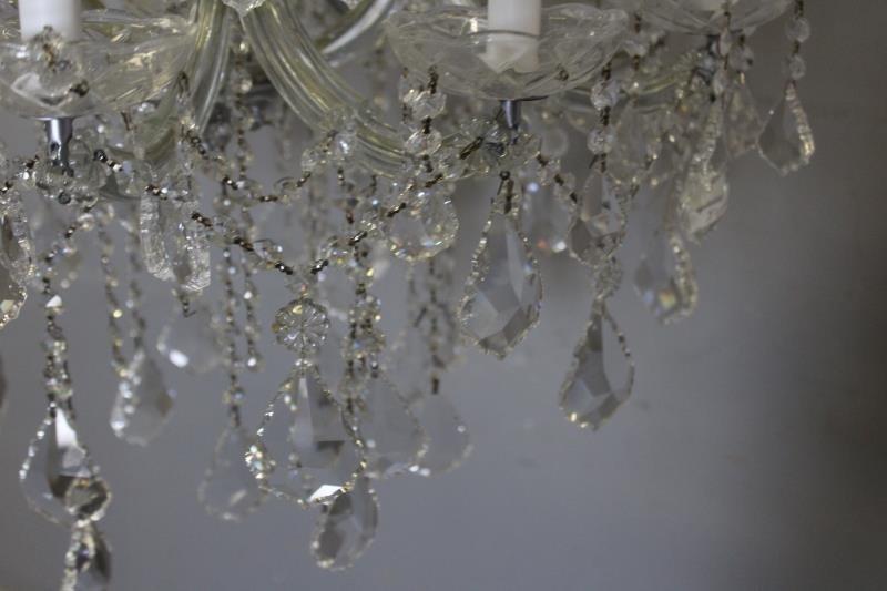Vintage Crystal Chandelier. - 2