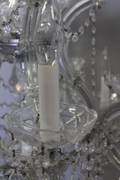 Vintage Crystal Chandelier. - 3