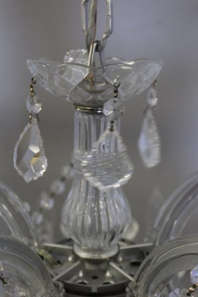 Vintage Crystal Chandelier. - 5